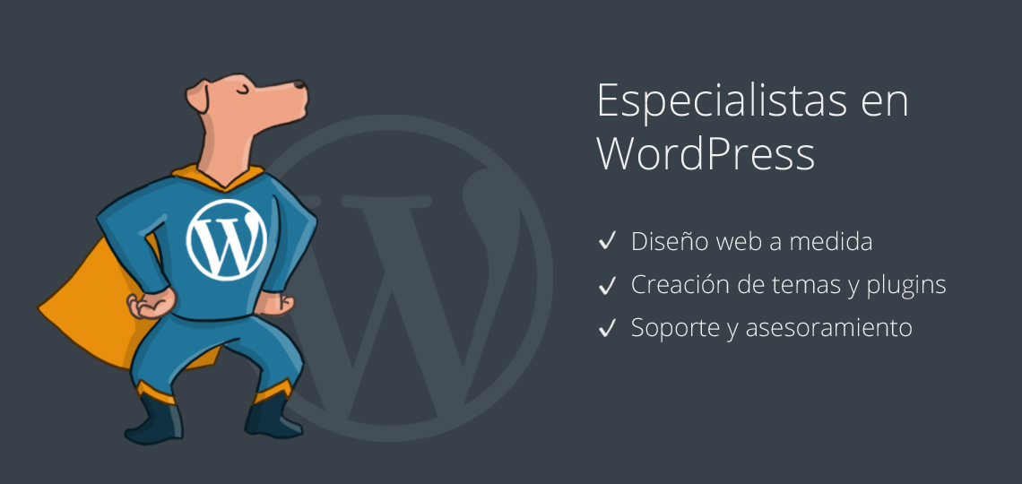 Especialistas en WordPress